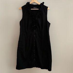 Apt 9 ruffled little black dress - 18